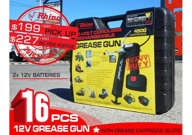 12V Rechargeable Grease Gun -  [PICK UP] TFGG6