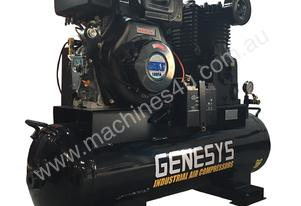 AIR COMPRESSOR DIESEL ENGINE 11 HP 22CFM - 145 PSI YANMAR COPY
