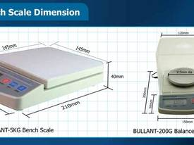 Bench scale: Up to 5000 gram - Bullant  - picture1' - Click to enlarge