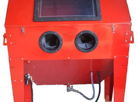 Sand blasting cabinet 420L with Dust Exactor