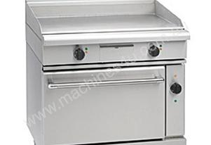Waldorf GP8910EC 900mm Electric Griddle - Convection Oven Range
