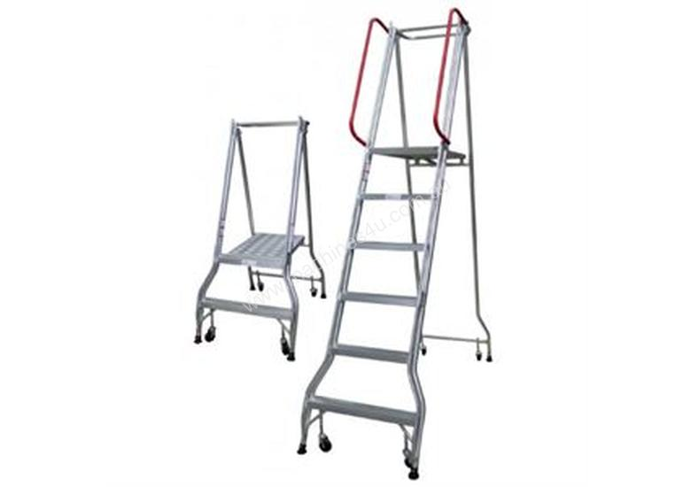 5 Steps Industrial Ladder 1410mm Platform Height