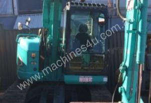 KOBELCO SK70SR SITE EQUIPPED 8 TONNE ZERO SWING