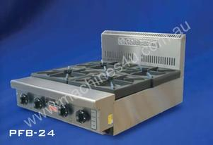 Gas 2 Burner Cooktop with Stand