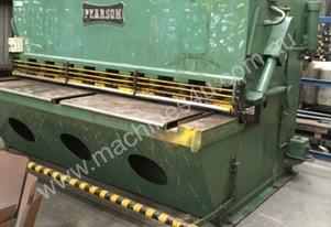 Pearson hydraulic guillotine 2500mmx10mm