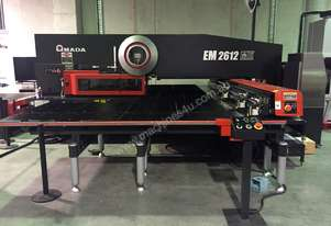 Amada EM M2 Series Servo-Electric Turret Punch Press - Offers high performance and Reliability