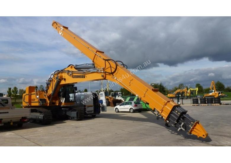Excavator Telescopic Boom - EXTRACT IN EXCESS OF 300T PER HOUR AT A DEPTH OF 40m