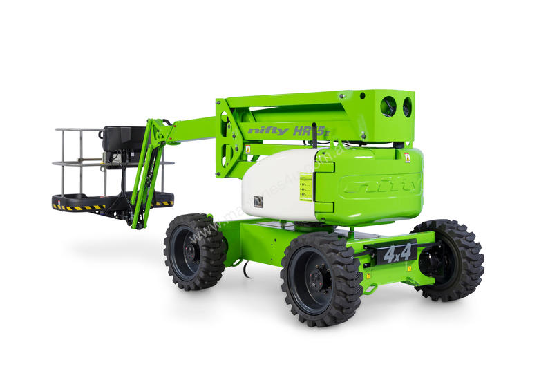 Nifty HR15 4�4 15.7m Self Propelled - low weight, versatile and easy to manoeuvre