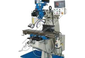 BM-23A Turret Milling Machine (X) 585mm (Y) 295mm (Z) 400mm Includes Digital Readout