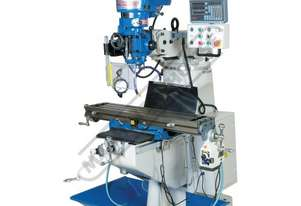 BM-23A Turret Milling Machine (X) 585mm (Y) 295mm (Z) 400mm Includes Digital Readout System