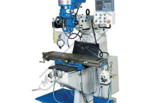 BM-23A Industrial Turret Milling Machine Table Travel: (X) - 585mm (Y) - 295mm (Z) - 400mm Includes