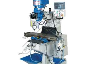BM-23A Turret Milling Machine (X) 585mm (Y) 295mm (Z) 400mm Includes Digital Readout - picture0' - Click to enlarge