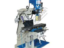 BM-23A Turret Milling Machine (X) 585mm (Y) 295mm (Z) 400mm Includes Digital Readout - picture2' - Click to enlarge