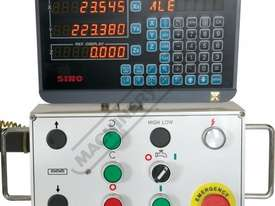 BM-23A Turret Milling Machine (X) 585mm (Y) 295mm (Z) 400mm Includes Digital Readout - picture3' - Click to enlarge