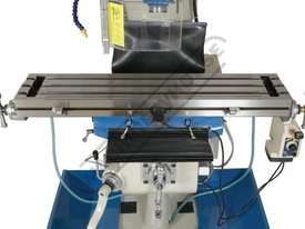 BM-23A Turret Milling Machine (X) 585mm (Y) 295mm (Z) 400mm Includes Digital Readout - picture6' - Click to enlarge