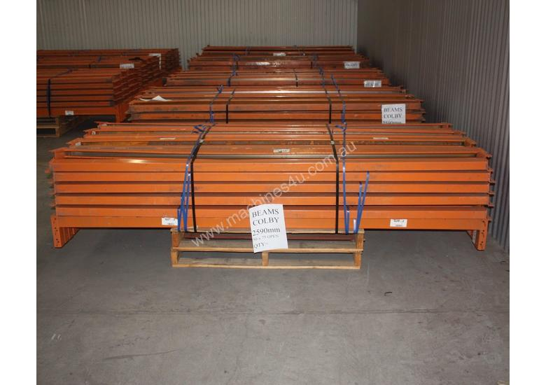 Used Colby 2590mm 50 X 75mm Open Racking In Hindmarsh Sa