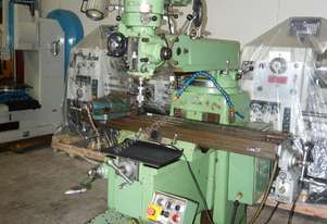 Vertical Turret Milling Machine, R8 Taper