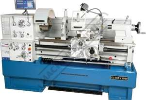CL-460 Centre Lathe 460 x 1000mm Turning Capacity - 80mm Spindle Bore Includes Digital Readout, Quic