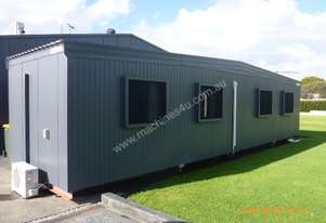 3M Wide x 12M Long 3 Room Transportable
