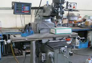 Acraturn Turret Mill Machine with DRO