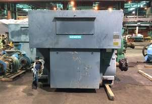 2500 kw 4 pole 3300v Siemens AC Electric Motor