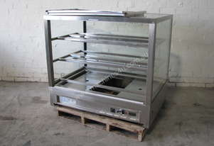 Stainless Steel Food Warmer Hot Heated Display