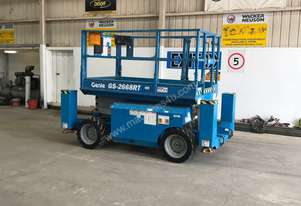 GENIE GS-2668 ALL TERRAIN SCISSOR LIFT