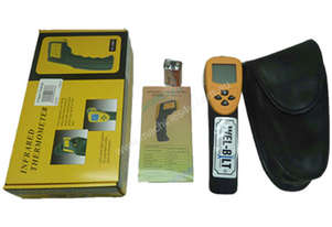 HEAT GUN 12-1 THERMOMETER LCD FACE 530C%