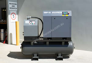 Screw Compressor 7.5kW (10HP) With Tank And Dryer