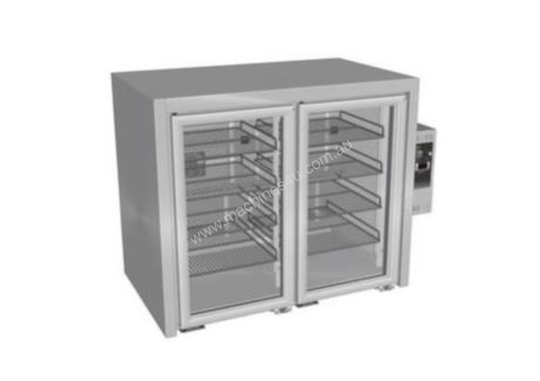 Culinaire Back Bar Refrigerators Stainless Steel Finish 2 Door CR.BB.U.AG.RB.2