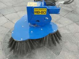 RB-80 Sweeper with Hitch (std with triple Soft Brush) - picture0' - Click to enlarge
