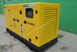 2017 Agrison GENERATOR 50KVA POWER INDUSTRIAL 3PHASE 240V