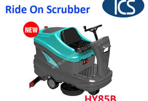 TCS NEW Ride-On Auto Floor Scrubber Cleaner Machine / Drier / Battery Powered