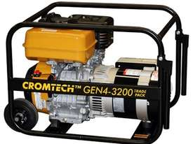 Cromtech Subaru 4kVA Worksite Approved Generator - picture1' - Click to enlarge