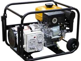 Cromtech Subaru 4kVA Worksite Approved Generator - picture2' - Click to enlarge