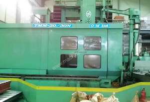 2001 OM Japan TMM-20/30N CNC Vertical Turn Mill
