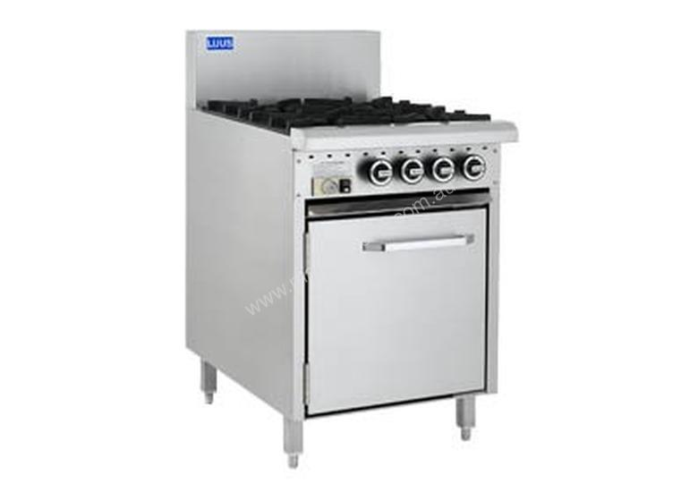 Luus Essentials Series 600 Wide Oven Ranges 4 burners & oven