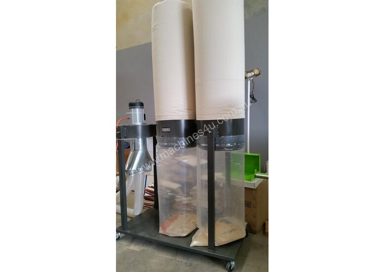 Woodfast Twice Bag single phase 240V or three phase 415V  Dust Collector DC5000