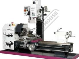 TU-3008G-20M Opti-Turn Lathe & Mill Drill Combination Package Deal 300 x 700mm Included BF-20AV Mill - picture0' - Click to enlarge