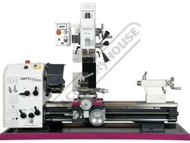 TU-3008G-20M Opti-Turn Lathe & Mill Drill Combination Package Deal 300 x 700mm Included BF-20AV Mill - picture2' - Click to enlarge