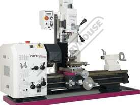 TU-3008G-20M Opti-Turn Lathe & Mill Drill Combination Package Deal 300 x 700mm Included BF-20AV Mill - picture3' - Click to enlarge