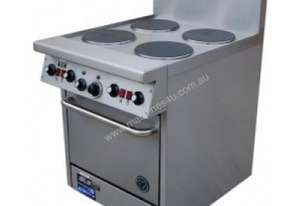 Goldstein Electric Fan Forced Convection Range with Radiant Plates