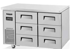 Skipio SUF12-3D-6 Under Counter Freezer Three Drawers