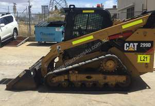 Cat 299D High Flow XPS Tracked Skid Steer