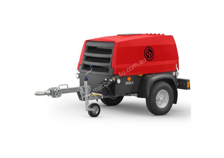 New chicago pneumatic CPS 2 5G 90cfm Diesel Air Compressor