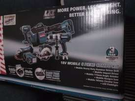 Makita 18v six piece combo set - picture1' - Click to enlarge