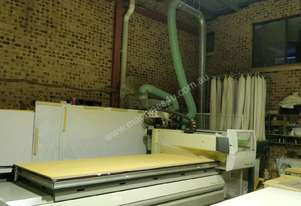 Used 3600 x 1200 Biesse Rover A 3.40 FT Only orwith 7.5kw Dust Extractor Tower and Air Dryer Package