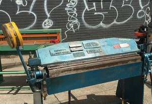 John Heine Manual Sheet Metal Folder 264 H 1220 x 2.0 mm Steel Bender