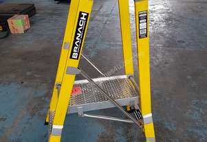 Branach Platform Ladder Fiberglass 0.6 Meter Picker Step Ladders