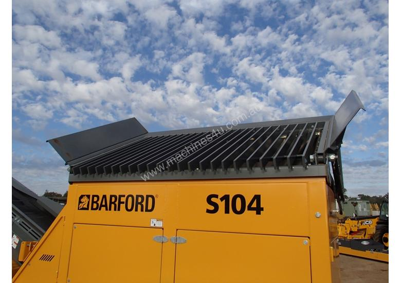 Barford S104 Tracked 2 Deck Screen